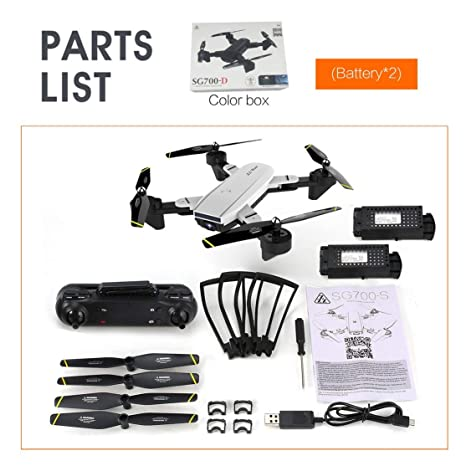 LouiseEvel215 Drone Plegable con 4K HD Full Camera Profesional ...