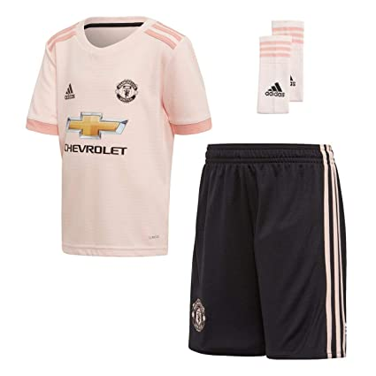 huge discount 4f750 3a562 Amazon.com : adidas Manchester United Away Kit 2018/19 (Kids ...