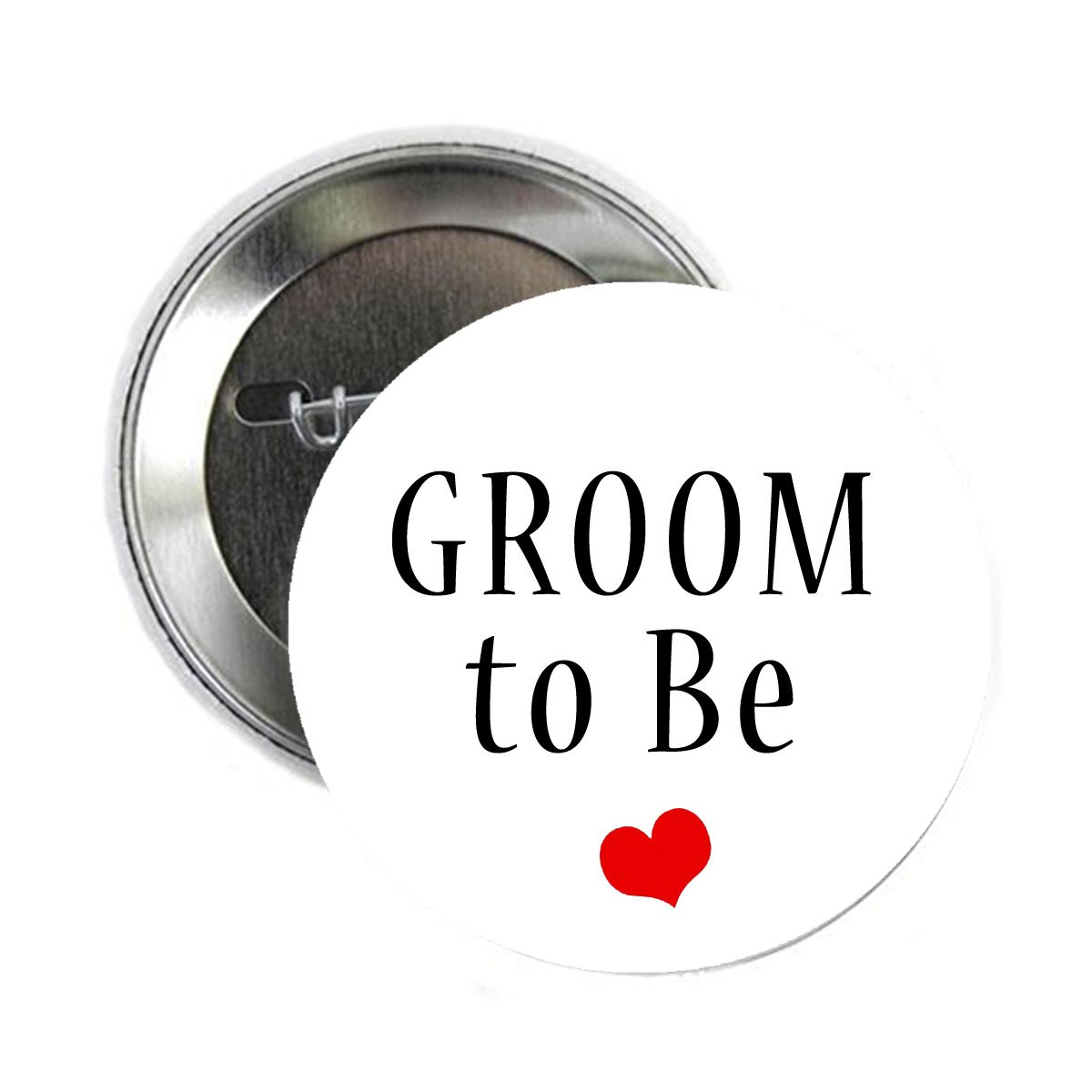 Groom to Be Button Pinback Button Pin 2.25