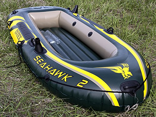 Intex Seahawk 2 Inflatable Boat Set + Oars/Pump/Motor Mount | 68347EP + 68624E by Intex (Image #6)