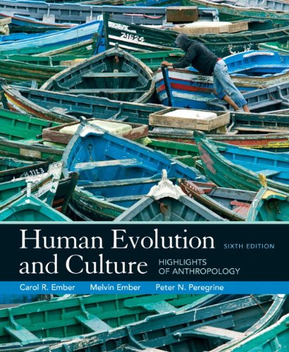 MyAnthroLab -- Standalone Access Card -- for Human Evolution and Culture  (6th Edition)