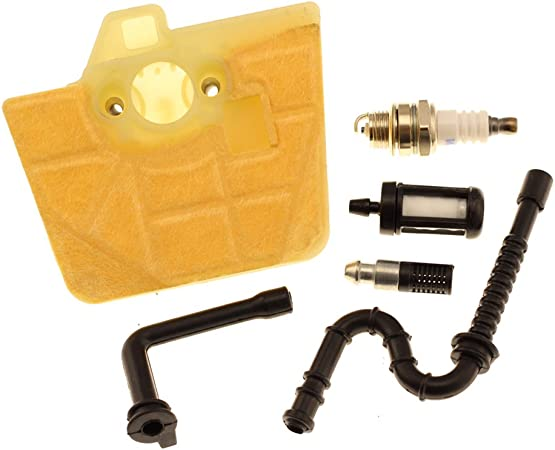 Amazon.com: HIPA Filtro de Aire con aceite de Spark Plug ...