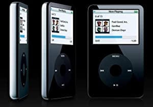Original Appleipod Compatible MP3 Apple iPod Classic Video 30GB Black White Mp3 Player (White)