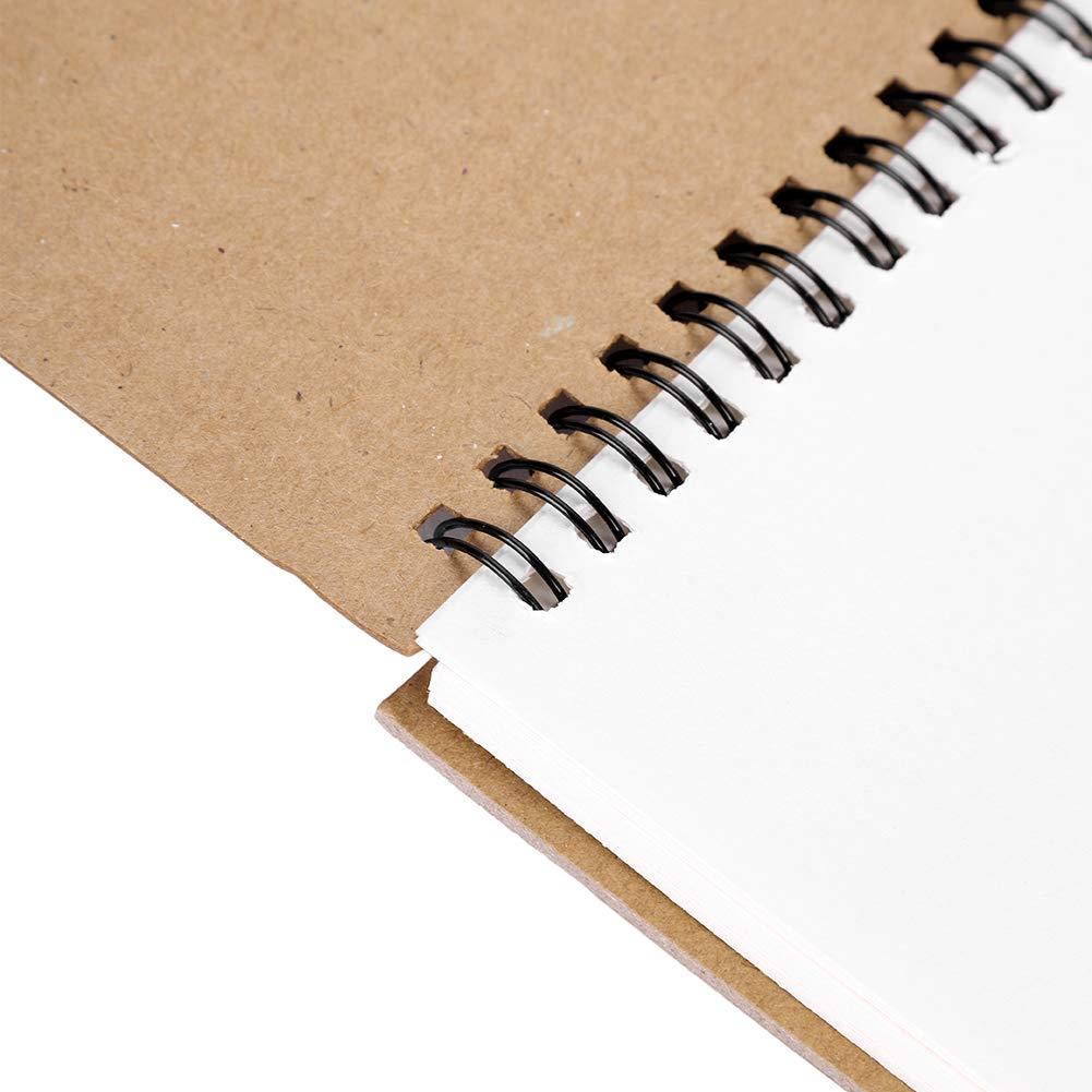 Canson Artbook One/ 98 fogli 27.9x35.6cm White /Hardbound Sketchbook incl 98/fogli di carta da disegno 100/g//m/² Rilegato con copertina rigida