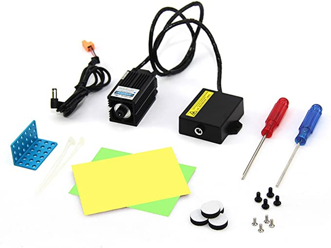 Laser Engraver Upgrade Pack for XY-Plotter Robot Kit: Amazon.es ...