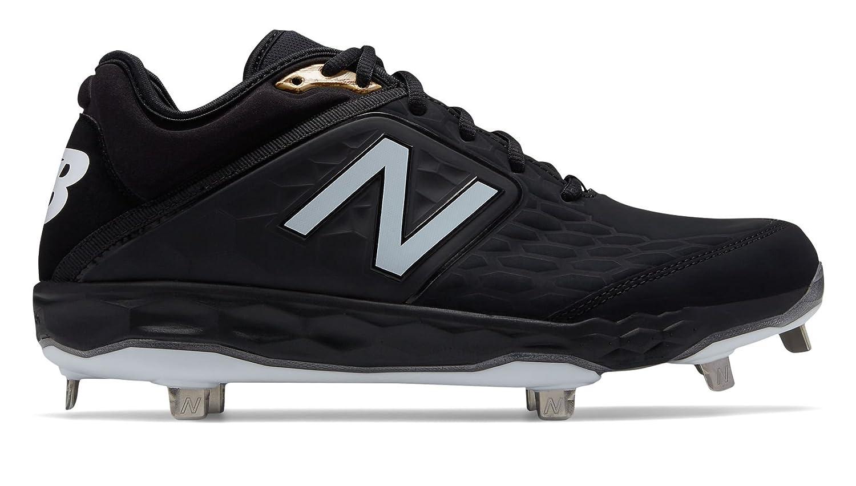 New Balance Men's 3000v4 Metal Baseball Shoe B075R863L5 7.5 2E US|Black