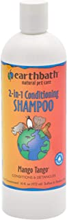 product image for Earthbath Mango Tango 2-in-1 Pet Conditioning Shampoo - Conditions & Detangles, Aloe Vera, Vitamin E, Good for Dogs & Cats - Leave Your Pet's Coat Wonderfully Soft & Plush - 16 fl. oz