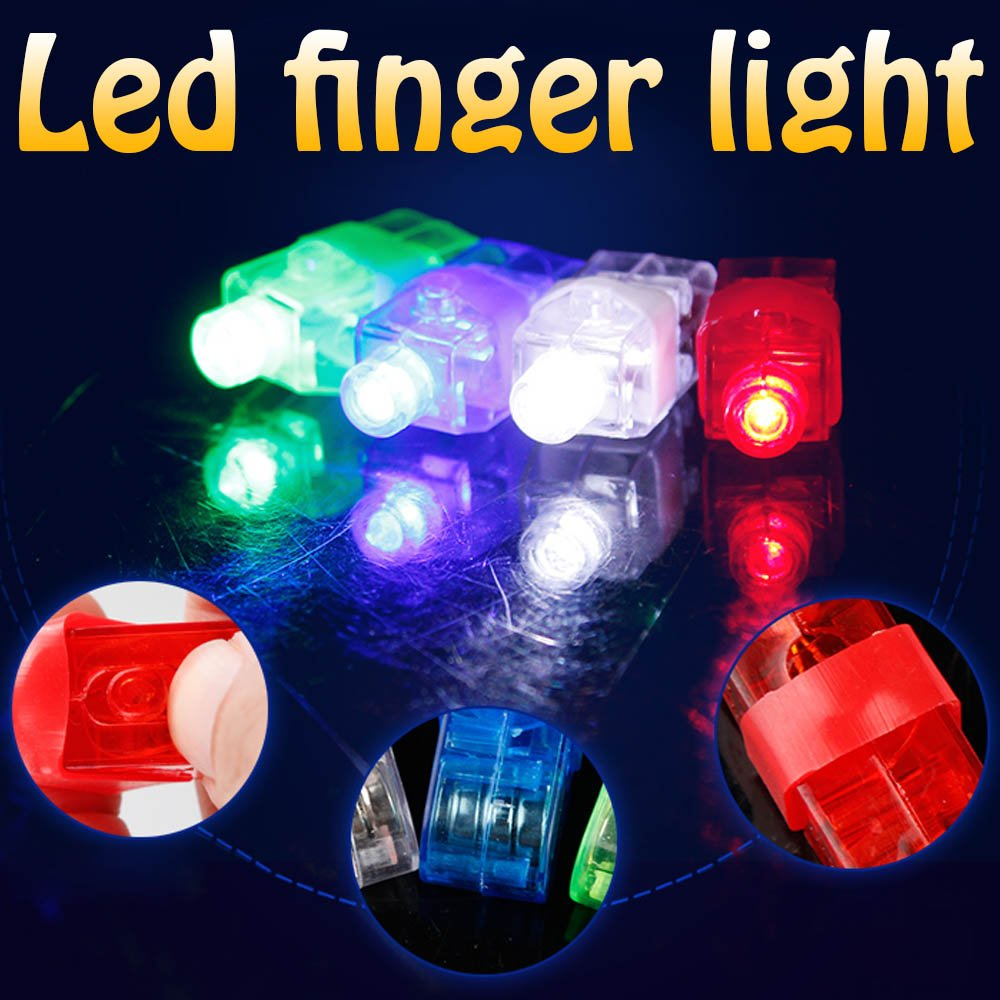 LED Finger Lights (40 pcs) OJ-WB0L-4QNJ