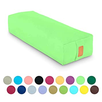 Amazon.com: #DoYourYoga - Cojín rectangular de yoga con ...