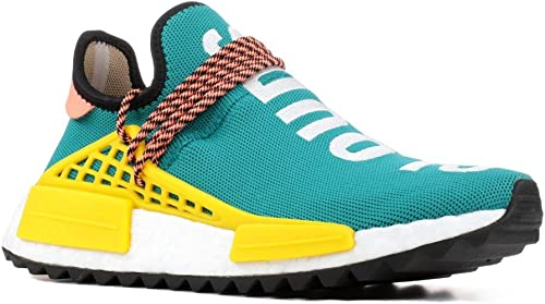 Interrupción Punto de partida transmitir  adidas NMD Human Race Trail Pharrell Williams Sunglow Trainer Size 9 UK:  Amazon.co.uk: Shoes & Bags