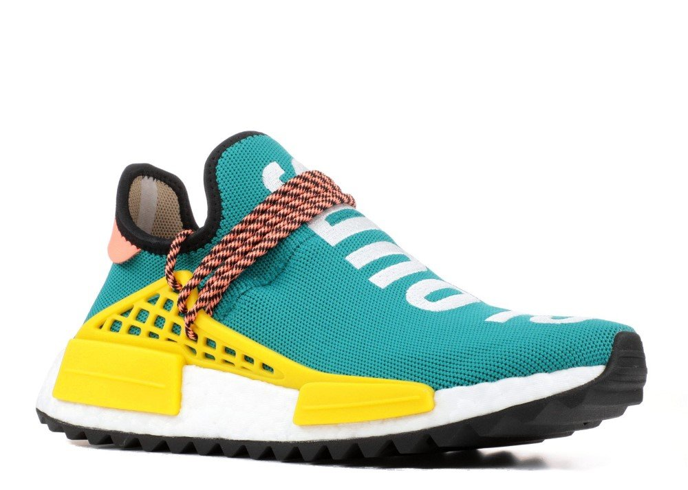 adidas Originals PW Human Race NMD Trail Shoe Men's Hiking B077F9X8JW 11.5 D(M) US|Sun Glow/ Core Black/ Eqt Yellow