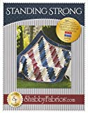 Standing Strong Quilt Pattern, 59.5'' by 73.5'' Finished Size, a Quilts of Valor Quilt