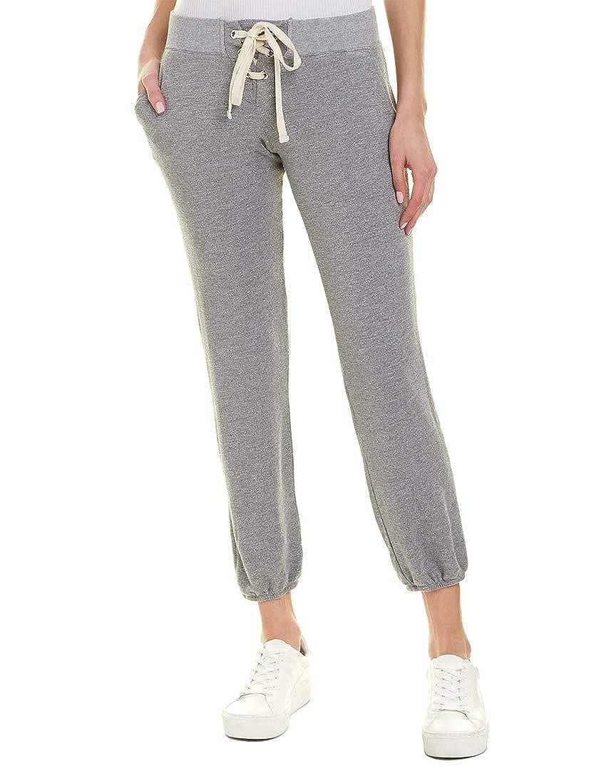 Dark Heather Monrow Womens LaceUp Pull On Sweatpants