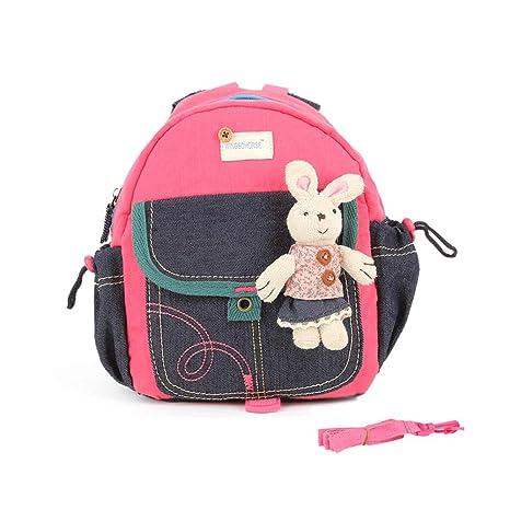 WINGMO Mochilas para niños Oso o Conejo Bolsa para niños ...