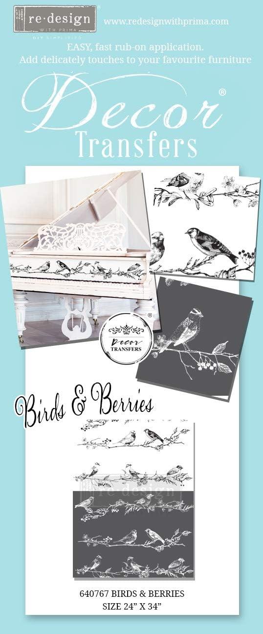 Prima Marketing INC Redesign Transfer Bird Berri
