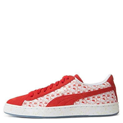 e53fc2f0f67 Image Unavailable. Image not available for. Color  PUMA Suede Classic x  Hello Kitty ...