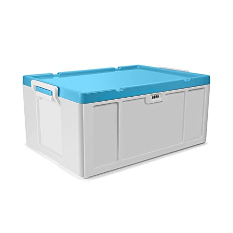 Combination Lock Storage Bins 52 Liter Stackable Storage Container Deck Box for Storing C&ing Gear  sc 1 st  Amazon.com & Amazon.com: Combination Lock Storage Bins 52 Liter Stackable ...