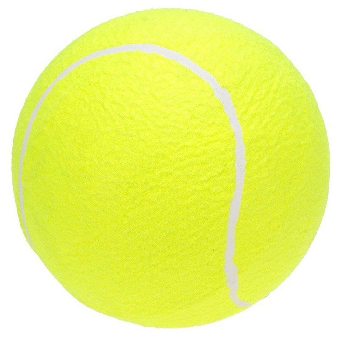 SODIAL 9.5 Oversize Giant Tennis Ball for Children Adult Pet Fun R Giant Tennis Ball