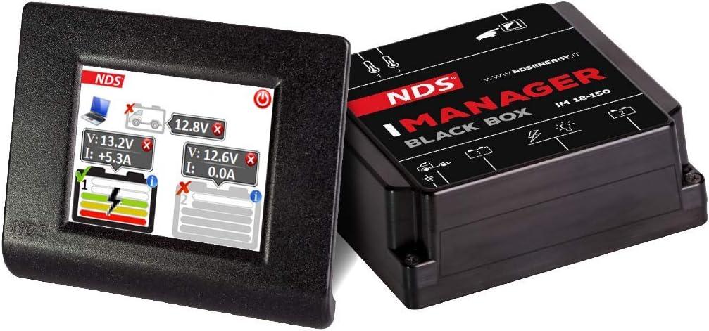 NDS - iManager 150A 12V Wireless display touch sistema de gestión baterías 2-3 - IM12-150W