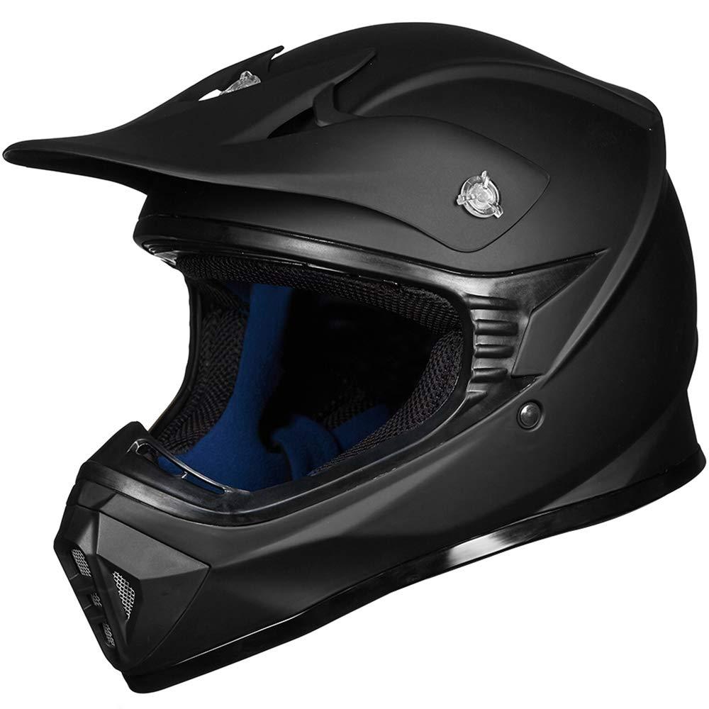 Amazon.com: ILM - Casco para motocicleta BMX MX para adultos ...
