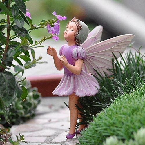 (~ The Lilac Fairy ~ Cicely Mary Barker Fairy Ornament / Figurine Series)