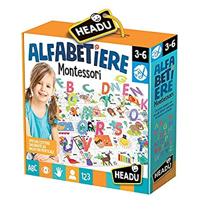 Headu Alfabetiere 3d Montessori It20362