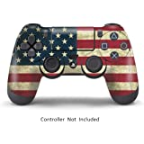 Elton PS4 Controller Dualshock 4 Vinyl Decal- American Flag