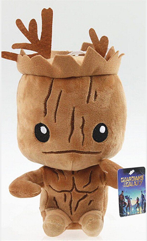 Peluche grande (30,5 cm), diseño de bebé Groot de la película Guardianes de la galaxia: Amazon.es: Juguetes y juegos