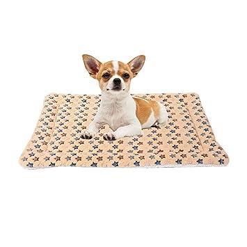 Amazon.com: saymequeen cachorro cojín Cálido Mascota Dormir ...