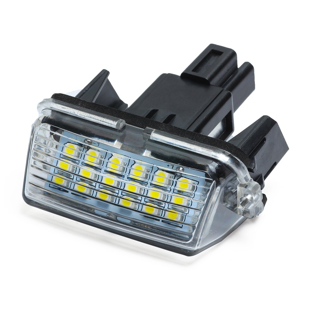 auto parcheggio lampada esterna luci Haichen 2PCS 18 LED bianco lampada luce targa