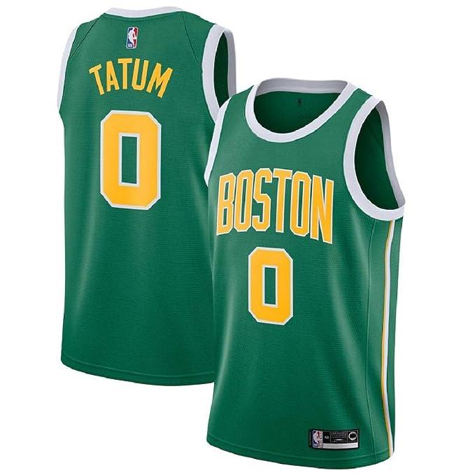 Amazon.com: Majestic Athletic Jayson Tatum #0 Boston Celtics ...
