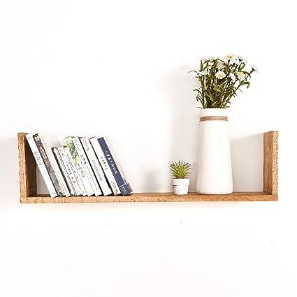 Montaggio Mensole A Muro.Mensole Da Muro Supporto A Muro Di Mensola Di Legno Montaggio Di