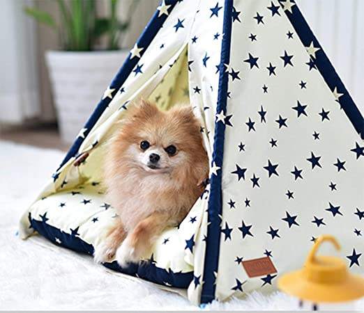 Amazon.com: HFFTLH Indoor Creative Kennel Pet Tent ...