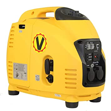 VOLTHERR INVERTER GENERATOR Stromerzeuger 2,5KW by: Amazon.de ...