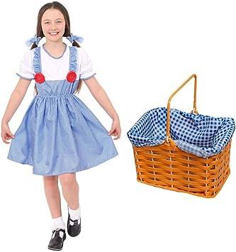 I LOVE FANCY DRESS LTD Disfraz DE Dorothy para NIÑAS. EL Mago DE ...