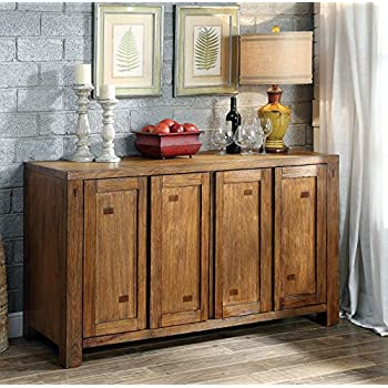 furniture of america maynard wooden dining buffet server