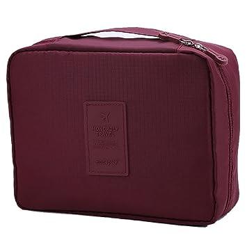 Amazon.com: vesst Toiletry Bag de maquillaje cosméticos caso ...