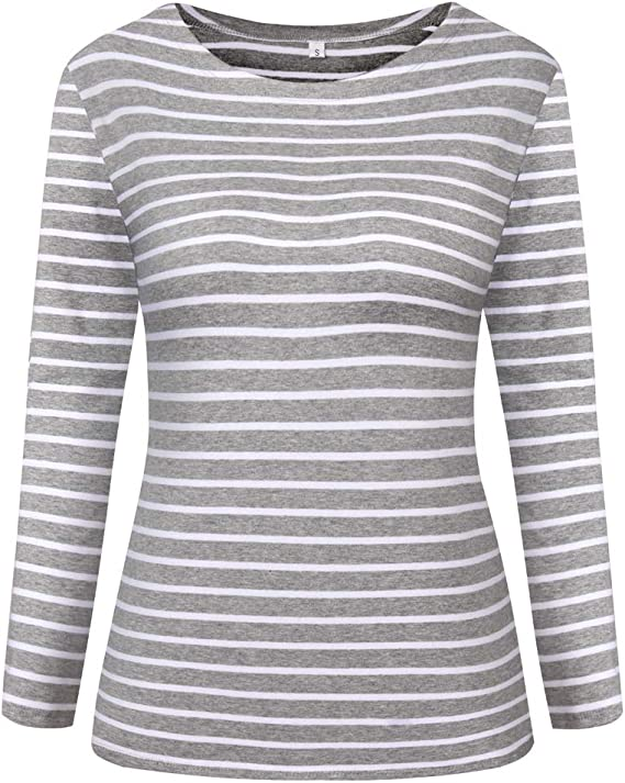 Amazon Coupon Code for Womens Long Sleeve Striped