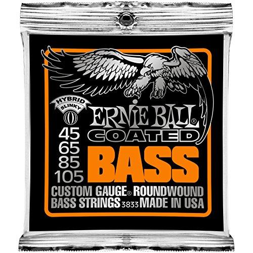 Ernie Ball Coated Bass Hybrid Slinky Set, .045 - .105