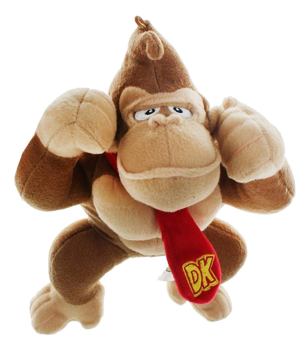 NINTENDO OFFICIAL SUPER MARIO DONKEY KONG 6'' PLUSH by NINTENDO