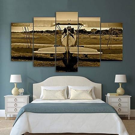 DXZJN - Lienzo 5 piezas pintura - Lienzo arte de la pared ...