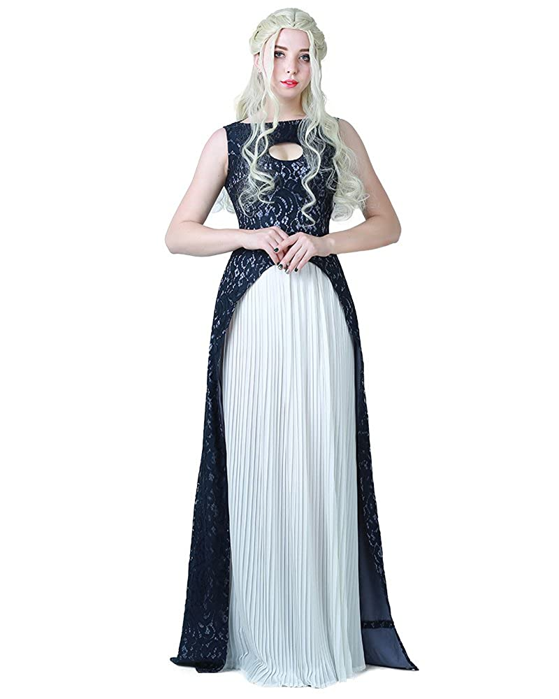 Khaleesi Dress Daenerys Targaryen Cosplay Costume Halloween