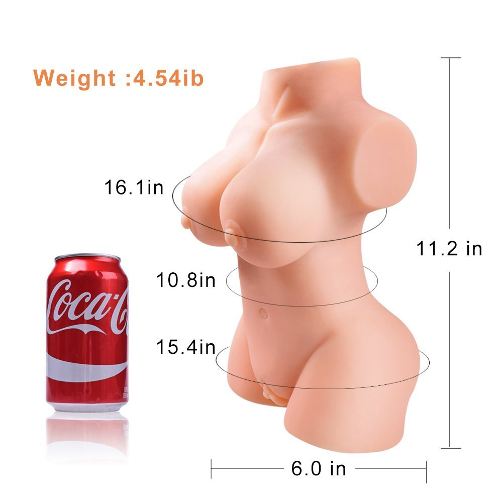 Lifelike Doll Silicone Dolls for Men Male Relax Adult Toy with Super Natural & Soft Skin Woman Torso-100% Safe Materia by ASVFR (Image #7)