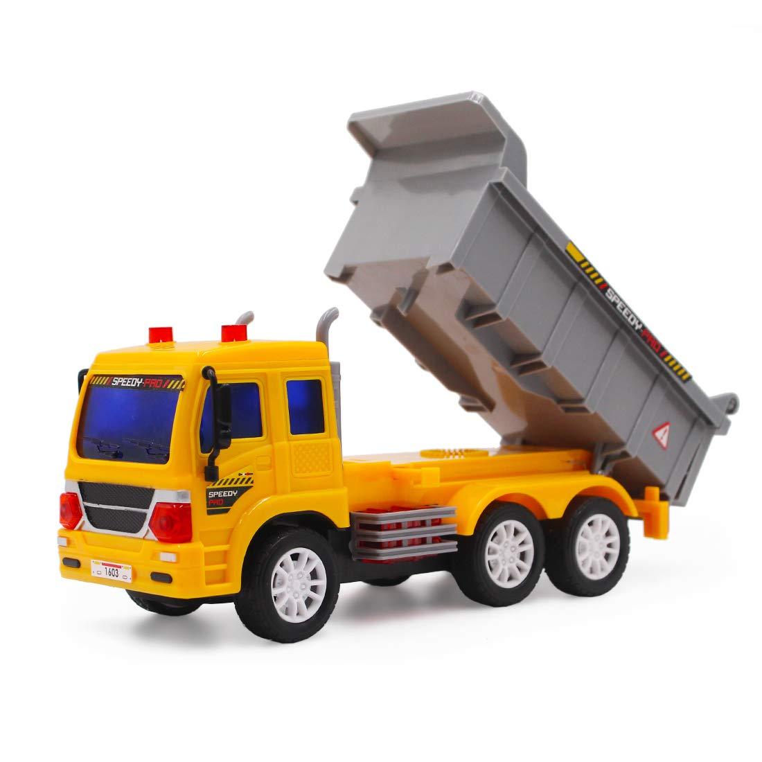 5 Kan/äle Fahrzeug mit Ger/äusch-und Lichteffekten Containerwagen Anf/änger Level deAO RC LKW funkgesteuerte Baustellenfahrzeug-Serie