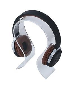niceEshop(TM) Kopfhörer Ohrhörer Standplatz Anzeigen Halter Aufhänger (Transparent)
