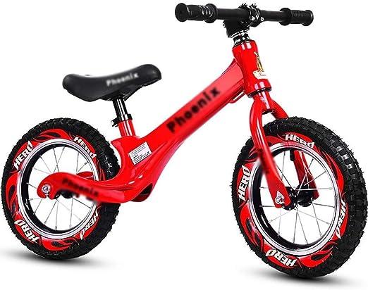 LPYMX Bicicletas sin Pedales para niños Bici del Balance del niño ...