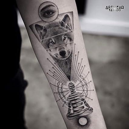 "2 Tatuajes Temporales ""Wolf Spirit Concept"" ..."