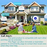 LIOTOIN Caregiver Pager Wireless Call Button System