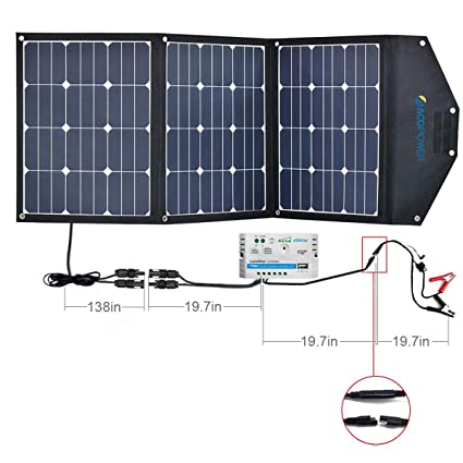Amazon.com: ACOPOWER cargador solar portátil, 105W ...