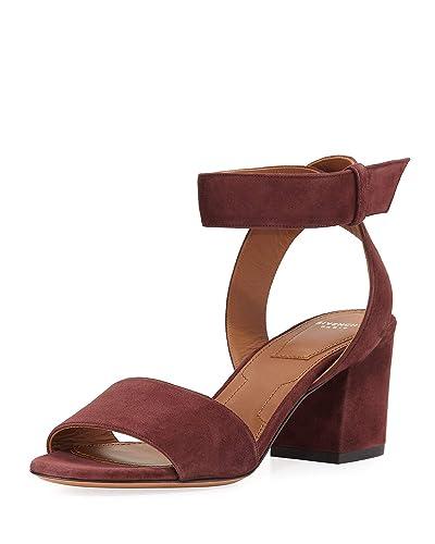 fc680b44c20e Amazon.com  Givenchy Paris Suede Ankle-Wrap Sandals 37.5  Shoes